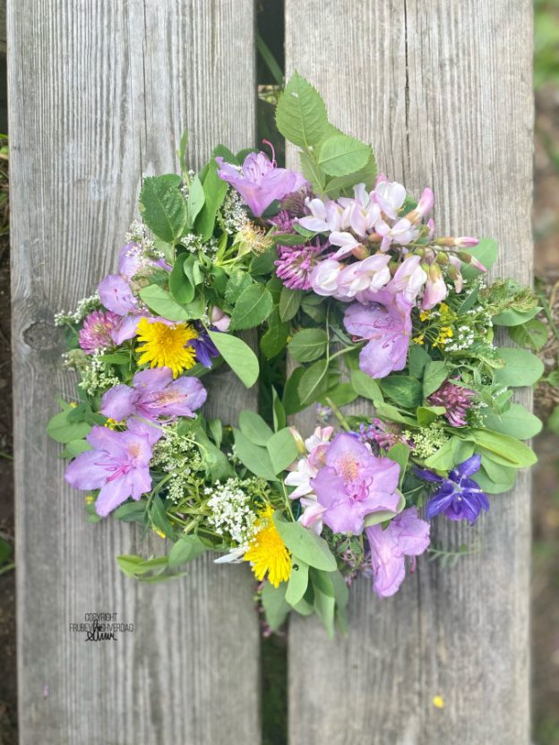 Blomsterkrans 🌸 [FruBeversHverdag]