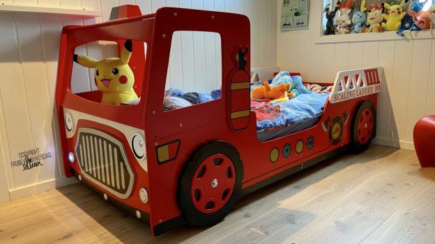 fra racebil til brannbil - ny seng @FruBeversHverdag