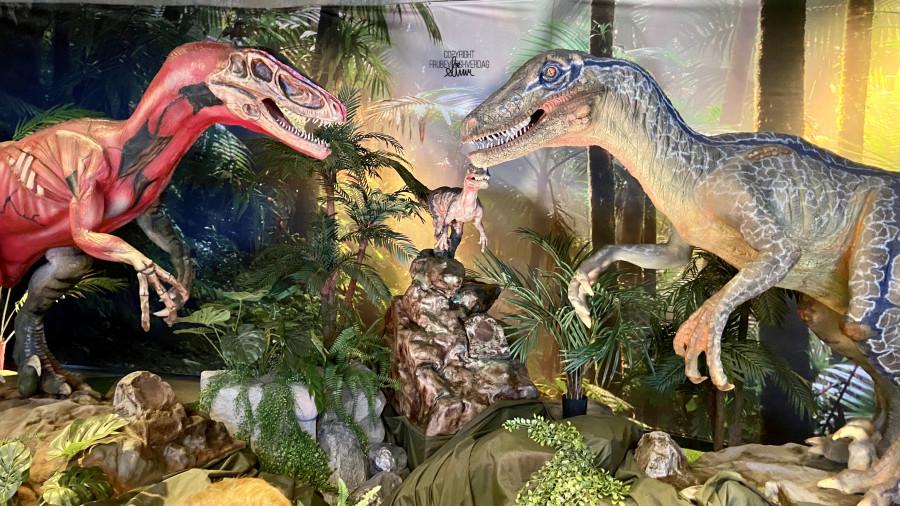 Dinosauria 2.0. @Inspiria Science center [FruBeversHverdag]