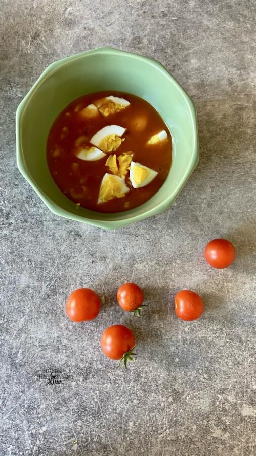 Tomatsuppe med egenproduserte tomater 🍅